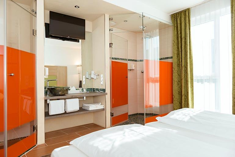 Hotel-Aviva-Karlsruhe-Badezimmer